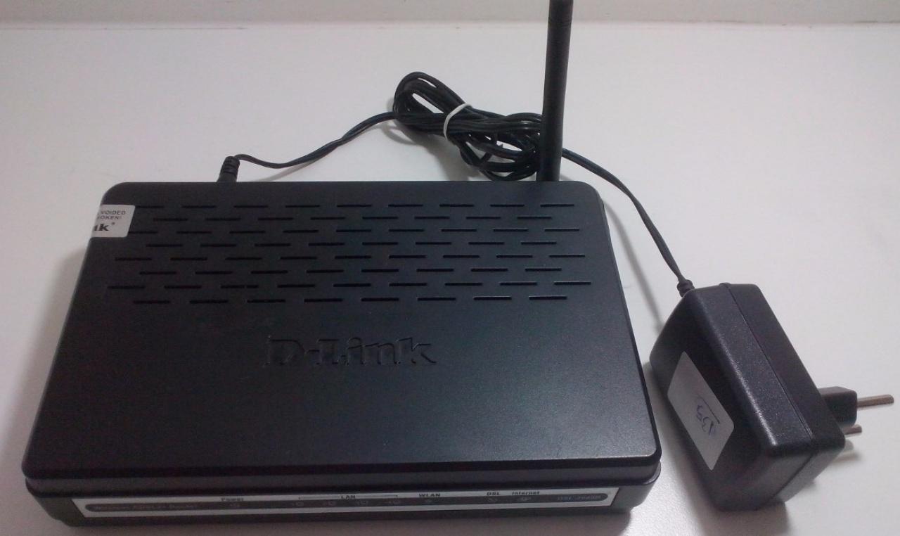 Modem ADSL D-Link DSL-2640B
