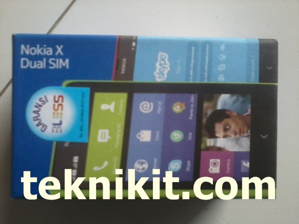 Box Nokia X Android