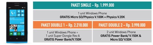 Bonus Pembelian Smartfren Windows Phone