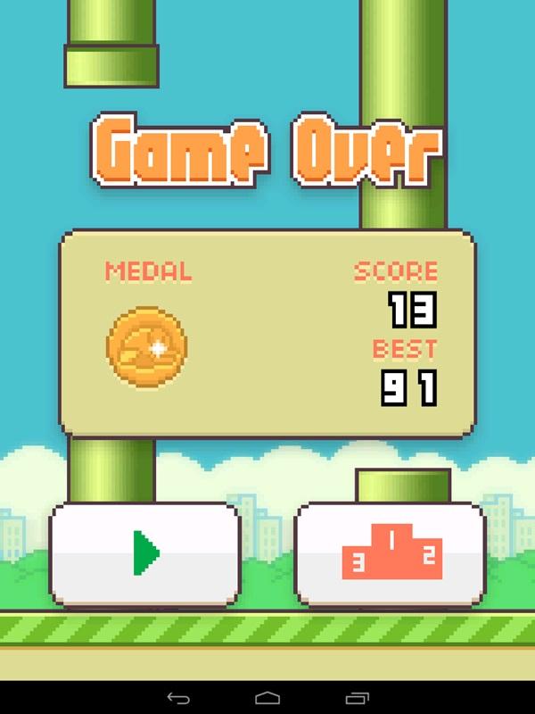 Flappy Bird Hadir Lagi Agustus 2014