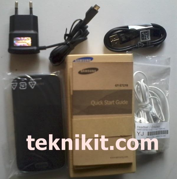 Kelengkapan Samsung Galaxy Ace 3