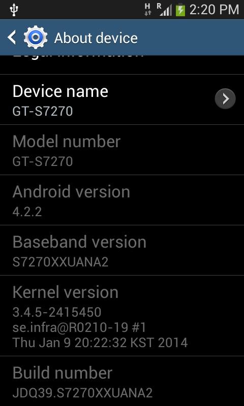 Enable USB Debugging Samsung Galaxy Ace 3