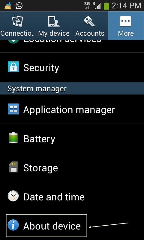 Memunculkan Menu Developer Options Samsung