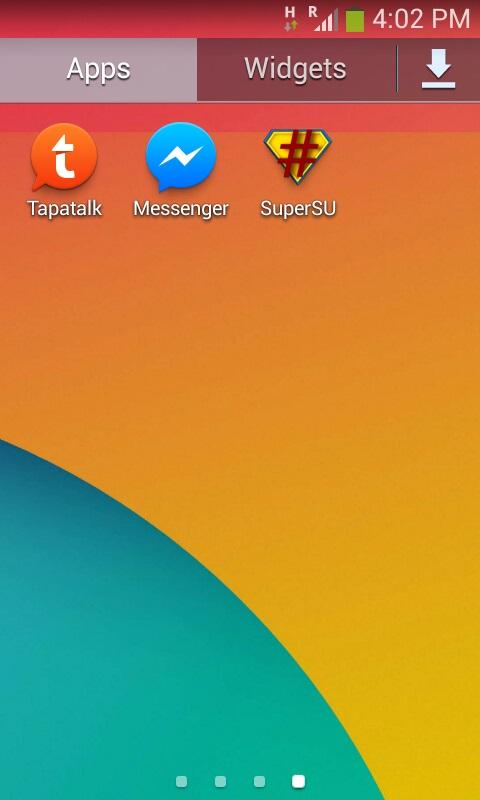 Root Samsung Galaxy Ace 3 Berhasil