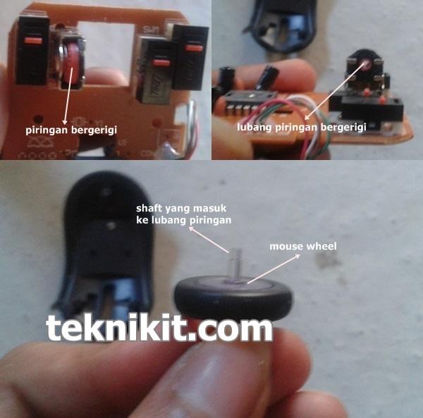 Bagian Mouse Yang Menyebabkan Mouse Wheel Rusak