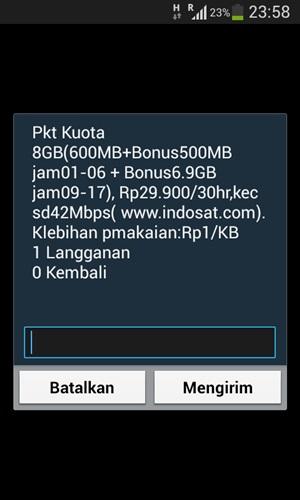 Paket Super Internet Indosat Kuota 8GB