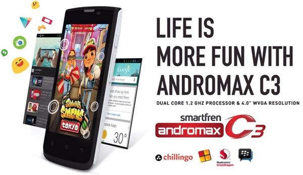 Gambar Smartfren Andromax C3