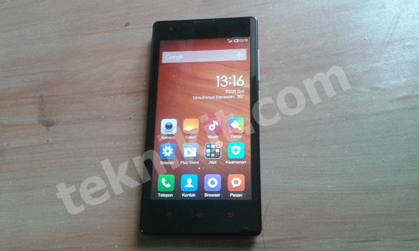 Tampilan Muka Xiaomi Redmi 1S