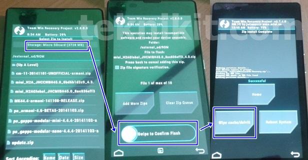 Mengatasi Bootloop Xiaomi Redmi 1S