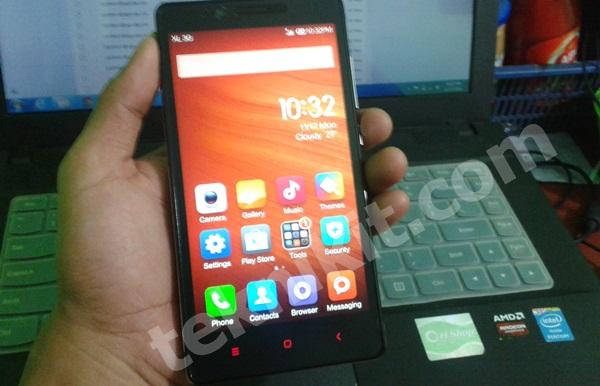 Tampilan Xiaomi Redmi Note 3G