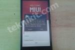 Tampilan Xiaomi Redmi Note Setelah Install ROM Baru