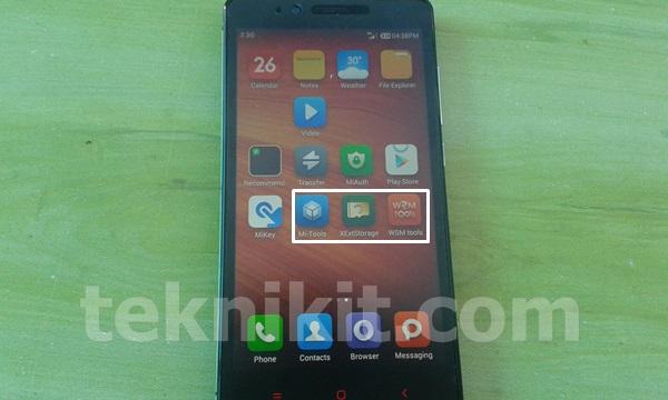 WSM Tools Xiaomi Redmi Note