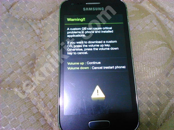 Download Mode Samsung Galaxy Ace 3