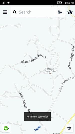 HERE Maps Offline