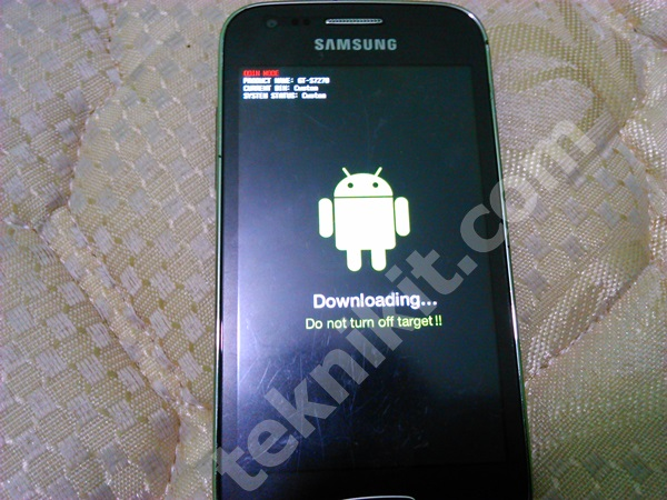 Masuk Download Mode Samsung Galaxy Ace 3