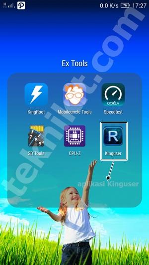 Aplikasi Kinguser Setelah Root Lenovo Vibe X2