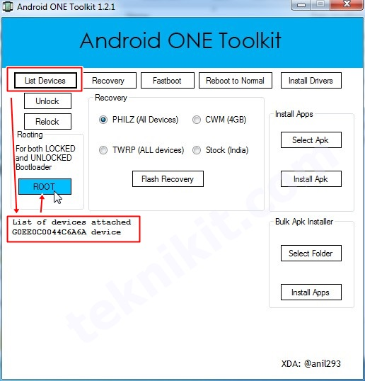 Cara Root Android One