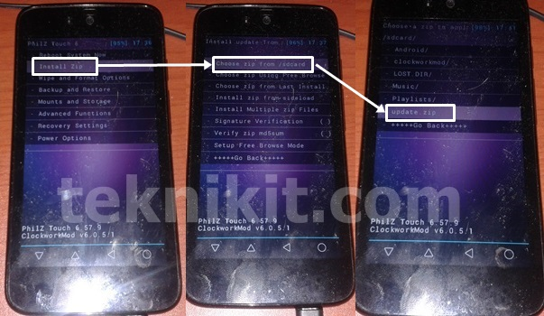 Proses Root Android One