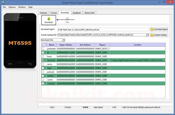 Install TWRP Lenovo Vibe X2 Lollipop