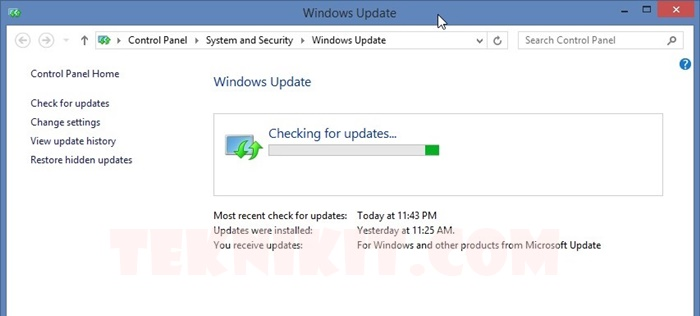 Cek Ketersediaan Update Windows 10
