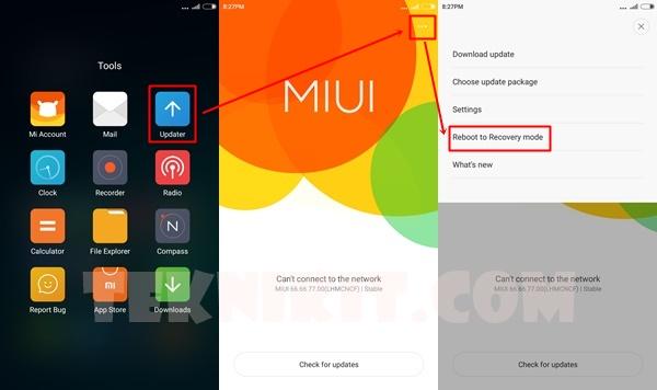 Cara Masuk Recovery Mode Xiaomi Redmi Note 2