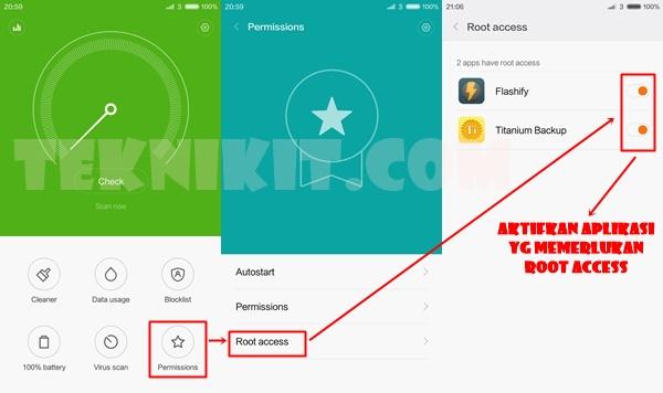 Mengaktifkan Root Redmi Note 2 MIUI 7