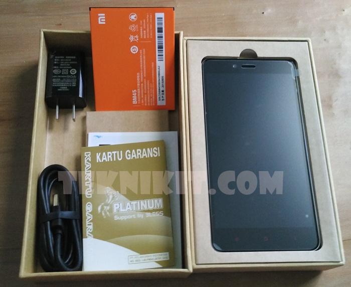 Paket Pembelian Xiaomi Redmi Note 2