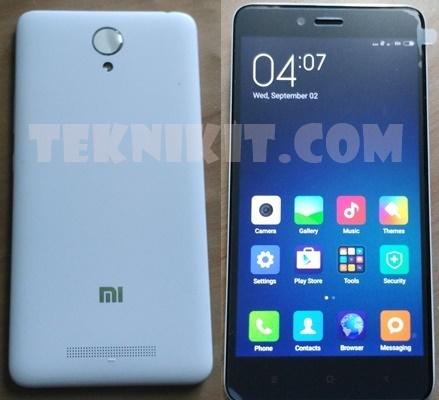 Penampakan Xiaomi Redmi Note 2 Helio X10