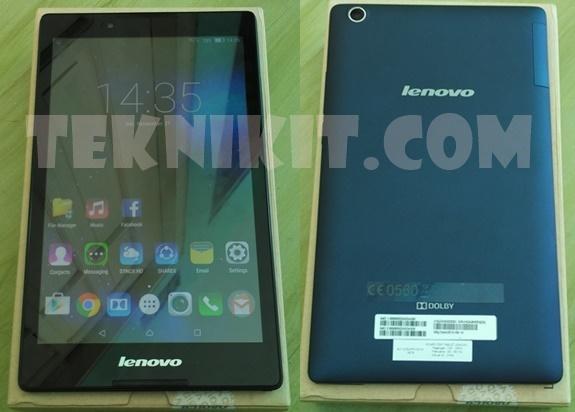 Tampilan Lenovo Tab 2 A8-50