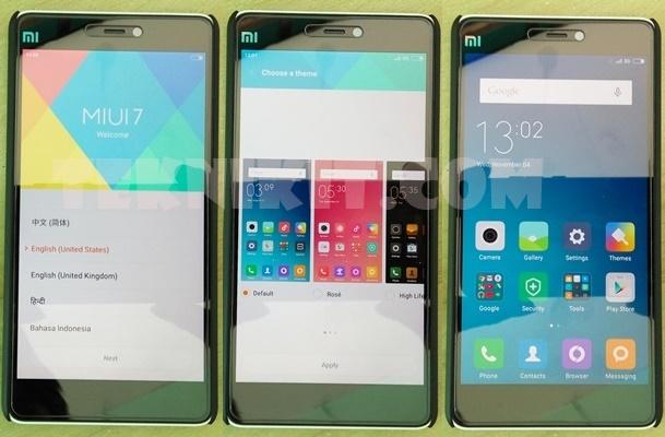 Tampilan Xiaomi Mi 4i Menggunakan MIUI 7 Stable Global