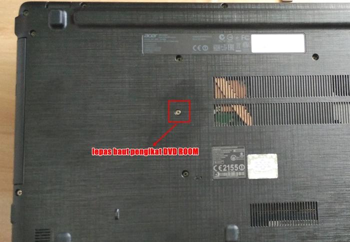 Bongkar Acer Aspire E5-552G