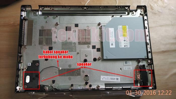 Buka Cover Acer Aspire E5-552G