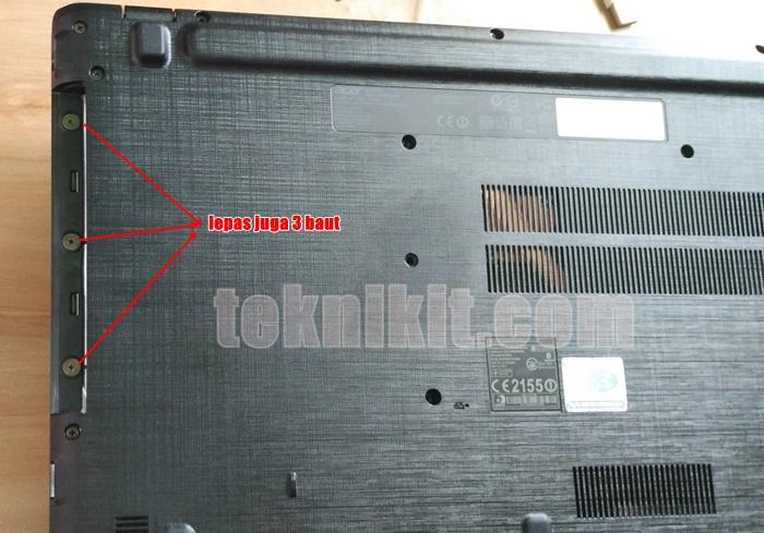 Cara Bongkar Laptop Acer Aspire E5-552G