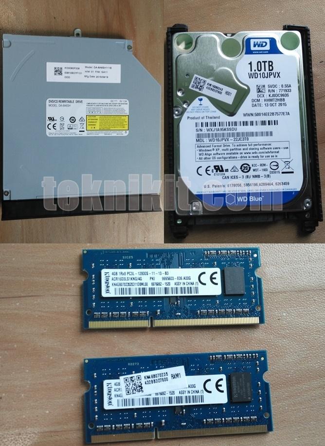 Hardware Acer Aspire E5-552G