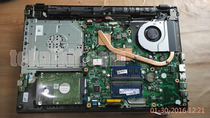 Penampakan Jeroan Acer Aspire E5-552G