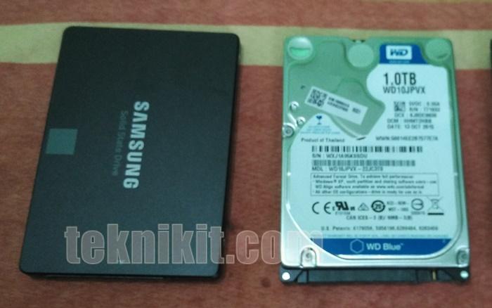 Beda SSD Dengan HDD