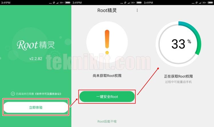 Cara Root Xiaomi Redmi 3