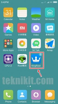 Kingroot Xiaomi Redmi 3