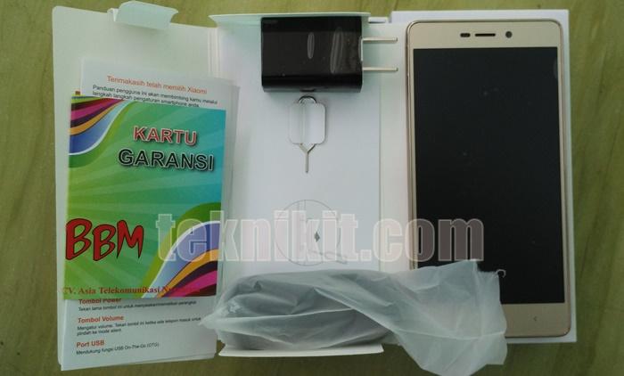 Paket Pembelian Xiaomi Redmi 3