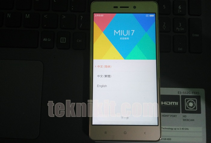 Redmi 3 Pakai ROM China Stable