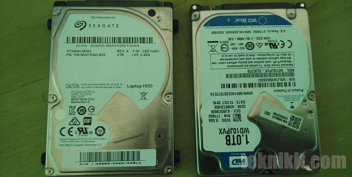 Mengubah Hardisk External Menjadi Hardisk Internal Laptop