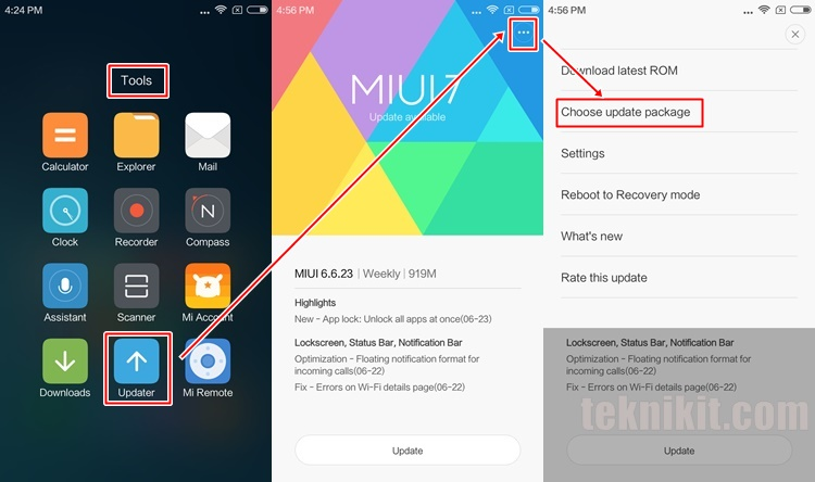 Cara Update MIUI 8 Ponsel Xiaomi