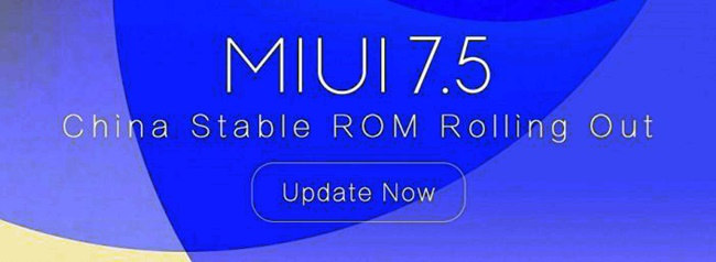 Download MIUI 7.5 China Stable