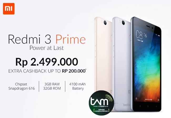 Jual Xiaomi Redmi 3 Pro Garansi Resmi TAM