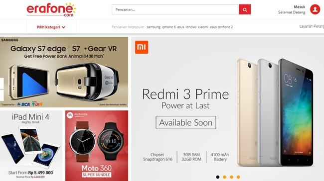 Xiaomi Redmi 3 Prime Garansi Resmi