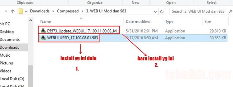 Install Web GUI Huawei Modem Bolt