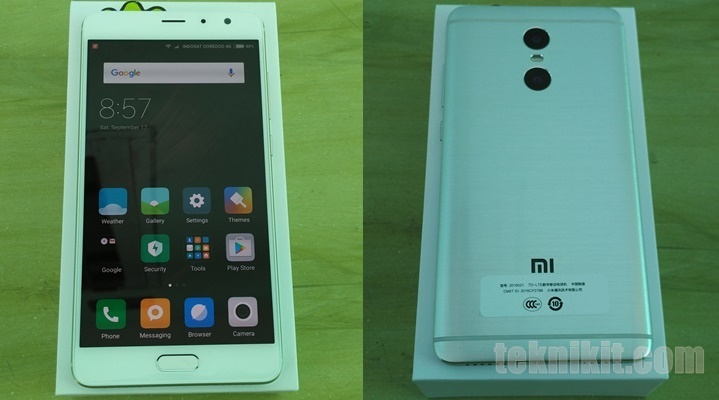 Penampakan Xiaomi Redmi Pro Indonesia