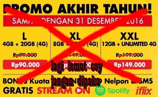 Internet Indosat Lemot Gangguan