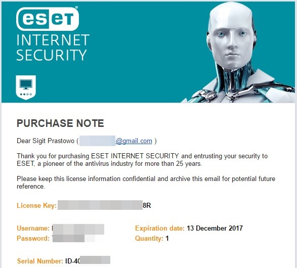 Promo ESET Internet Security Murah