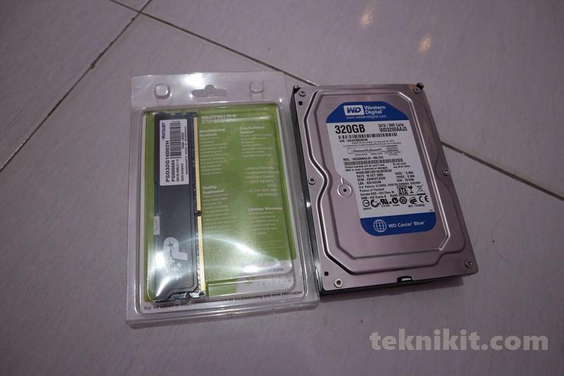 Hardisk 320GB Rakit PC 2 Juta